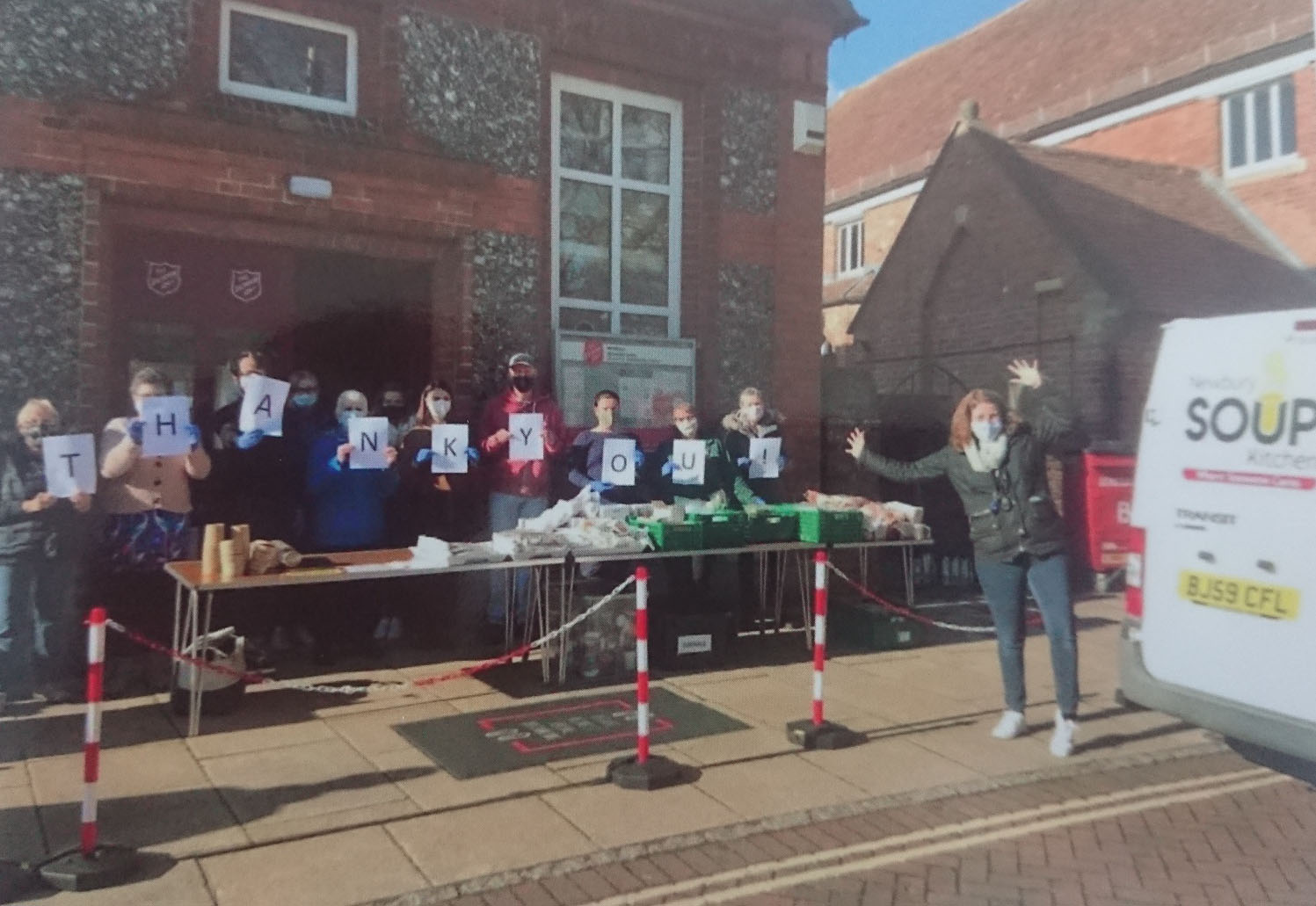 Lifecycle raises £590 for Newbury Soup Kitchen