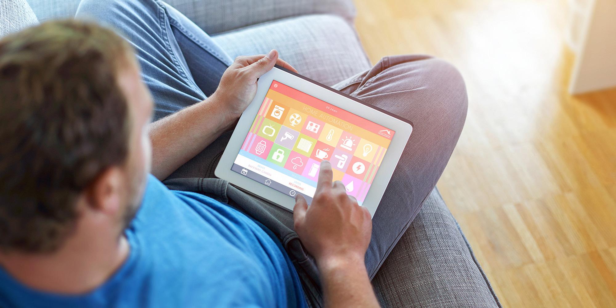 man-on-tablet